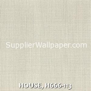HOUSE, H666-113