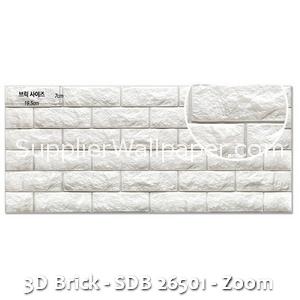 3D Brick - SDB 26501 - Zoom