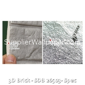 3D Brick - SDB 26503- Spec