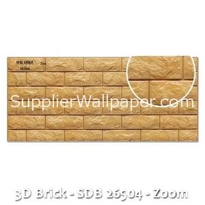 3D Brick - SDB 26504 - Zoom