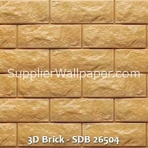 3D Brick - SDB 26504
