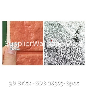 3D Brick - SDB 26505- Spec