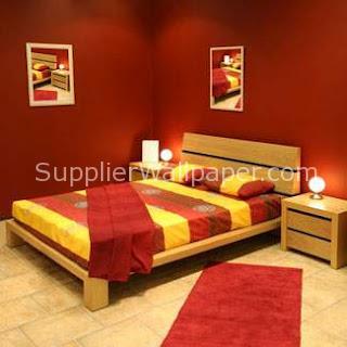 Wallpaper Dinding Kamar Tidur Pengantin Baru