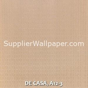 DE CASA, A12-3