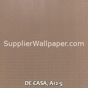 DE CASA, A12-5