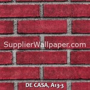 DE CASA, A13-3