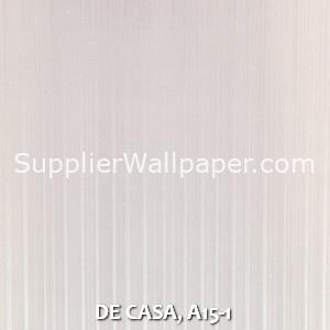 DE CASA, A15-1