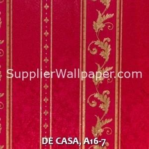 DE CASA, A16-7