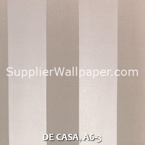 DE CASA, A6-3