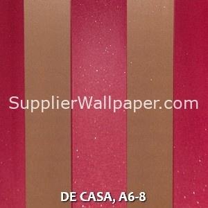 DE CASA, A6-8
