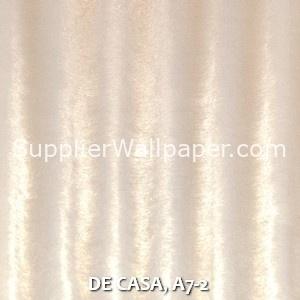 DE CASA, A7-2