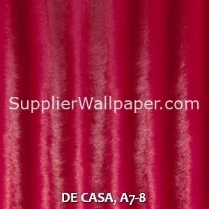 DE CASA, A7-8