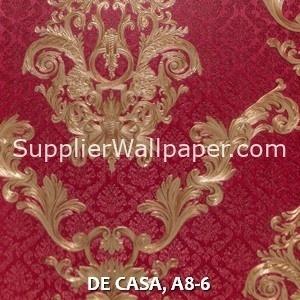 DE CASA, A8-6