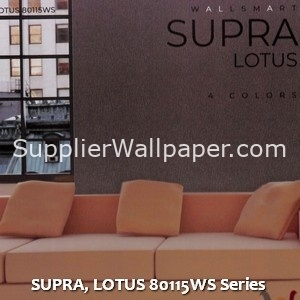 SUPRA, LOTUS 80115WS Series