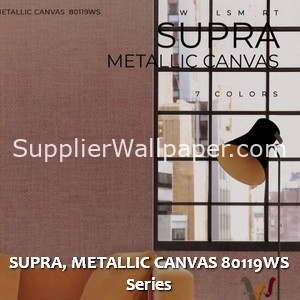 SUPRA, METALLIC CANVAS 80119WS Series