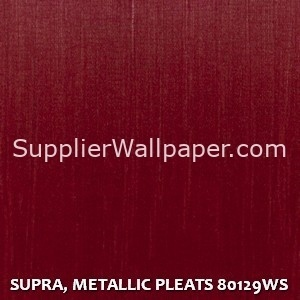 SUPRA, METALLIC PLEATS 80129WS