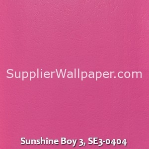 Sunshine Boy 3, SE3-0404