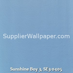Sunshine Boy 3, SE3-0405