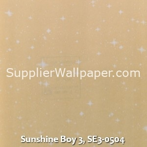 Sunshine Boy 3, SE3-0504