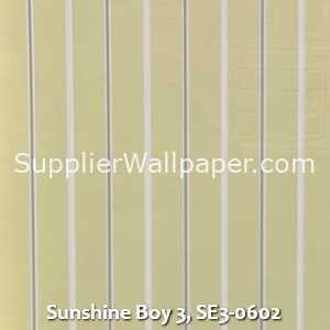 Sunshine Boy 3, SE3-0602