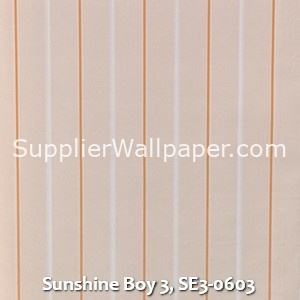 Sunshine Boy 3, SE3-0603