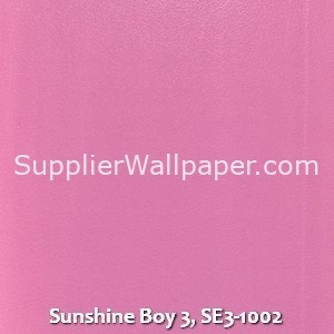 Sunshine Boy 3, SE3-1002