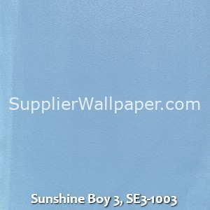 Sunshine Boy 3, SE3-1003