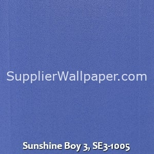 Sunshine Boy 3, SE3-1005