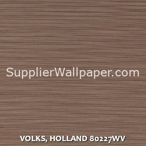 VOLKS, HOLLAND 80227WV
