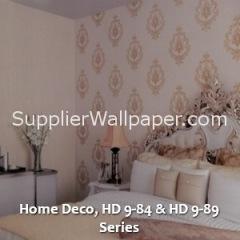 Home Deco, HD 9-84 & HD 9-89 Series