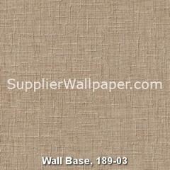 Wall Base, 189-03