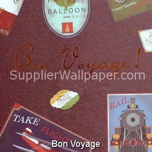 Wallpaper Bon Voyage