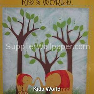 Wallpaper Kids World
