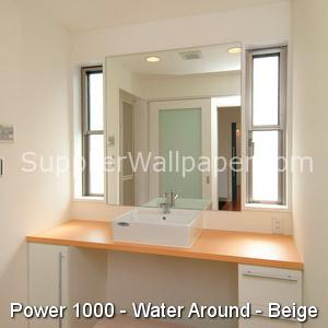 Wallpaper Power 1000 Water Around Beige