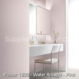 Wallpaper Power 1000, Water Around, Pink