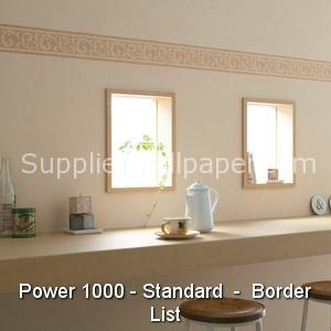 Wallpaper Power 1000, Standard, Border