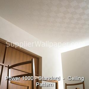 Power 1000, Standard, Ceiling Pattern