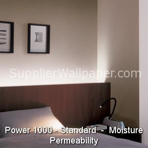 Wallpaper Power 1000, Standard, Moisture Permeability