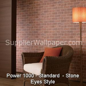 Wallpaper Power 1000, Standard, Stone Eyes Style