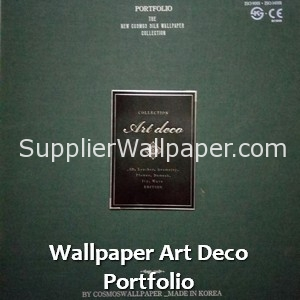 Wallpaper Art Deco Portfolio