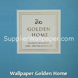 Wallpaper Golden Home