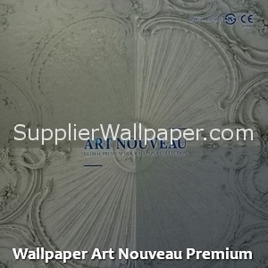Wallpaper Art Nouveau Premium