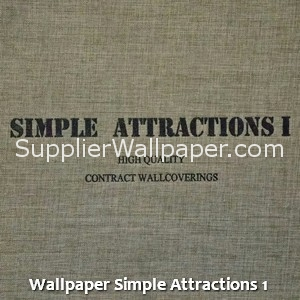 Wallpaper Simple Attractions 1