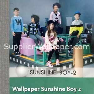 Wallpaper Sunshine Boy 2