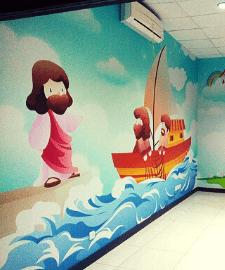 Wallpaper Custom - Motif Anak