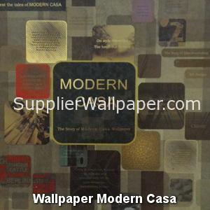 Wallpaper Modern Casa